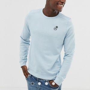 Nwt scotch & soda garment dyed sweatshirt